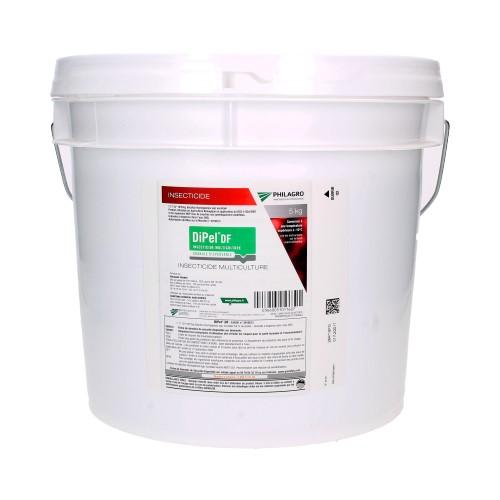 Insecticide BTk biologique, Dipel DF - Seau de 5kg